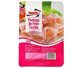 MONELLS Pechuga de pavo en finas lonchas Paquete de 130 gramos