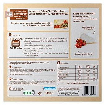 Carrefour Pizza mozzarella 340 G 340 g