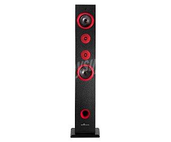 ENERGY SISTEM TS5 Torre audio 2.1 con sintonizador de radio am/fm, conexión Bluethooth, lector de tarjetas, USB y 60W de portencia