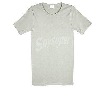 In Extenso Camiseta interior de manga corta color gris, talla M.