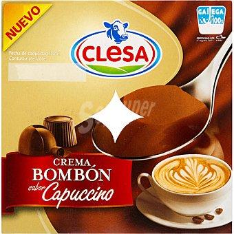CLESA Crema bombón sabor capuccino pack 4 unidades 125 g Pack 4 unidades 125 g