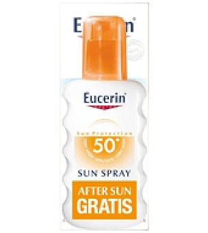 Eucerin Pack Spray Solar SPF 50+ + REGALO After sun Eucerin 150ml 200 ml