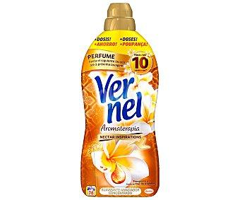 Vernel Suavizante concentrado Secretos de Armonía con Aceite Balsámico y Orquídea Botella 76 dosis