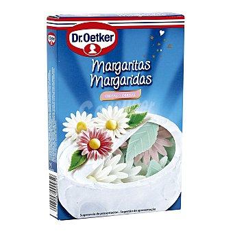 Dr. Oetker Margaritas decoración tartas  Caja 4.2 g