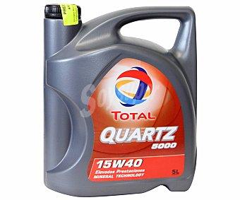 TOTAL Aceite mineral para vehículos gasolina y diésel 5 Litros