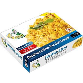 FRIGOSTO plato preparado de bacalao dorado  envase 300 g