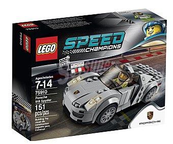 LEGO Juego de construcción con 151 piezas, Porsche 918 Spyder, serie Speed Champions, modelo 75910 1 unidad