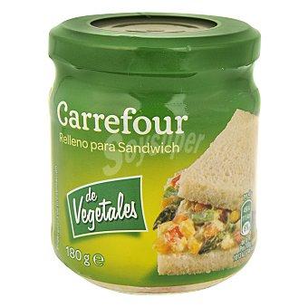 Carrefour Relleno de vegetales para sandwich 180 g