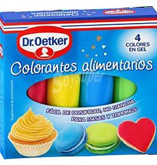 Dr. Oetker Colorantes ALIM.4 colores 4 UNI