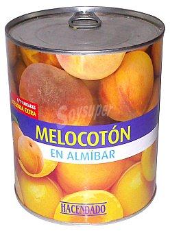 ALIFRUT Melocoton en almibar Bote 850 g escurrido