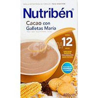 Nutribén Cacao con galleta María Caja 600 g