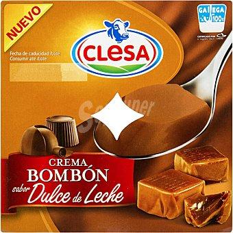 CLESA Crema bombón sabor dulce de leche pack 4 unidades 125 g Pack 4 unidades 125 g