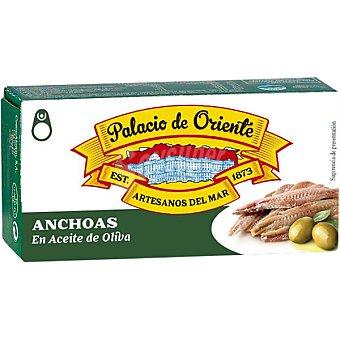 Palacio de Oriente filetes de anchoa en aceite de oliva lata 29 g neto escurrido