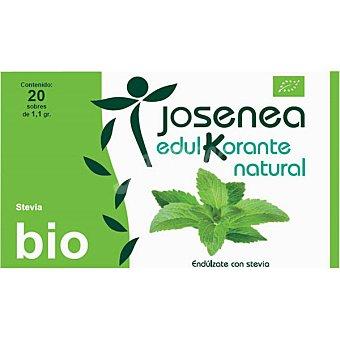 JOSENEA Linea K Edulcorante natural de Stevia 20 sobres Caja 22 g