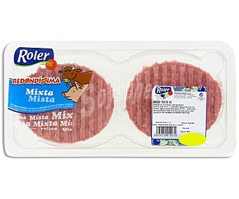 Roler Burger meat mixta 2 unidades 160 gramos
