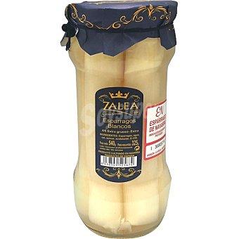 Zalea Gourmet espárragos blancos D.O. Navarra extra gruesos 4-6 piezas Frasco 325 g neto escurrido