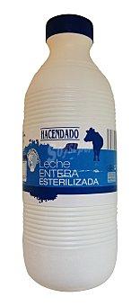 Hacendado Leche entera esterilizada Botella 1,5 l