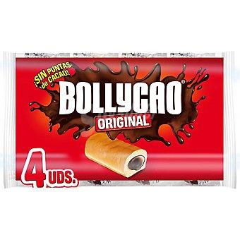BOLLYCAO Relleno de chocolate envase 268 g 4 unidades