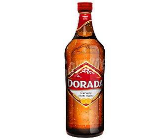 Dorada Cerveza botella de 75 centilítros