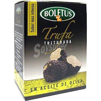 Boletus Trufa triturada en aceite de oliva Estuche 11 g neto escurrido