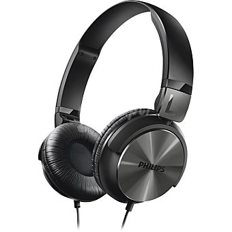 Philips Auriculares tipo DJ en color negro SHL3160BK 1 Unidad