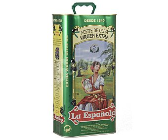 La Española Aceite de oliva virgen extra Lata de 5 l
