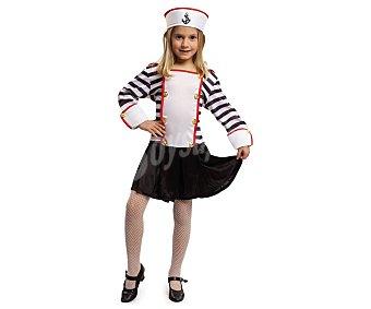 My other me Disfraz infantil de Marinera, talla 10-12 años ME.