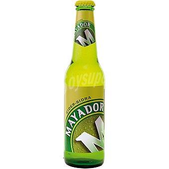 MAYADOR Sidra asturiana refrescante con alcohol botella 33 cl Botella 33 cl