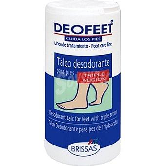 Deofeet Talco desodorante para pies triple acción Bote 100 g