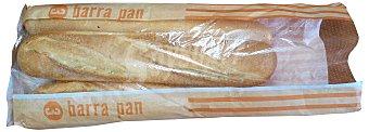 MERCADONA PAN BARRA NORMAL ARTESANA PAQUETE 3 unidades (900 g)
