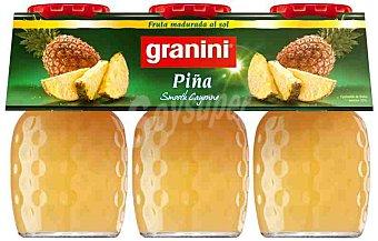 Granini Nectar de piña Pack 3 botellas 20 cl