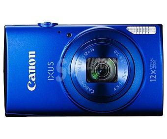 "Canon Cámara compacta 20 Megapixeles, Zoom óptico 12x, Zoom digital 4x, pantalla 2.7"", color azul ixus 170"