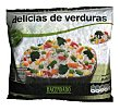 Arroz tres delicias de verdura congelado Paquete 600 g Hacendado