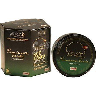 COREN Vettonia Montanea pate de higado de cerdo iberico a la pimienta verde  pack 2 latas 78 g