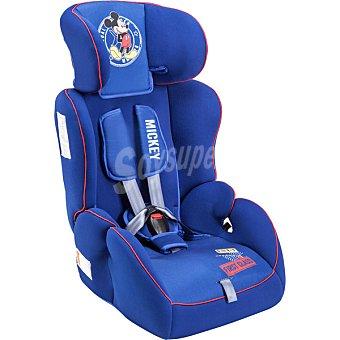 Disney Silla para automóvil de color azul con dibujo de Mickey grupo 1 - 2 - 3 1 unidad