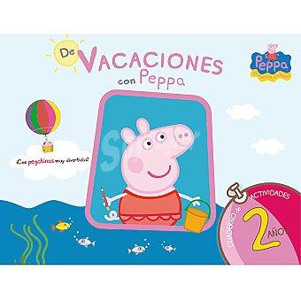 PEPPA PIG Cuadeno de vacaciones con 2 años