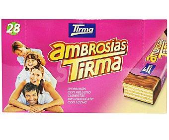 Tirma Ambrosías de chocolate 28 ud