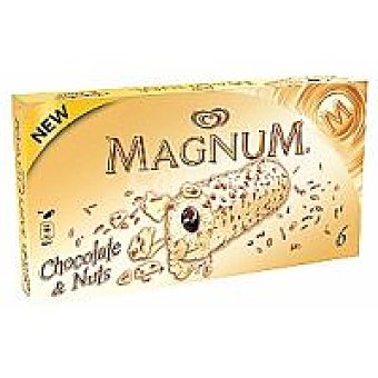 Frigo Magnum Magnum chocolate&nuts Pack 6x64 ml
