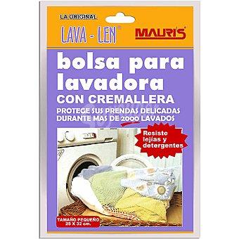 LAVA LEN Bolsa para lavadora con cremallera tamaño pequeño 25x32 cm