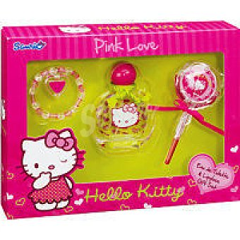 Hello Kitty Colonia Spray 50 ml + Brillo + Pulsera