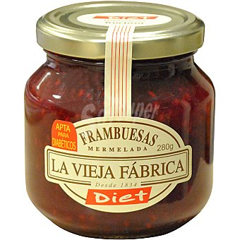 LA VIEJA FABRICA DIET mermelada de frambuesa sin azúcar  frasco 280 g