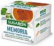 Infusión sabor hierbabuena Memoria Susarón (ginkgo biloba y ginseng siberiano) Paquete 10 bolsitas Susaron