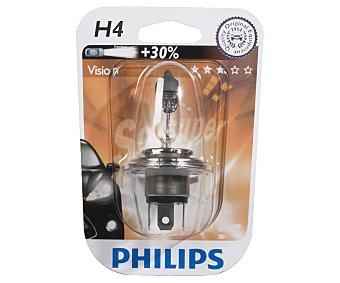 Philips Bombilla halógena para automóvil, modelo H4, potencia: 60-65W 1 Unidad