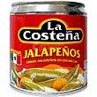 chiles jalapeños en escabeche lata 125 g neto escurrido La Costeña