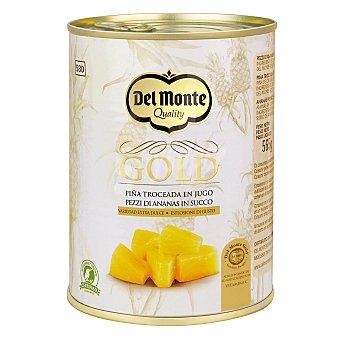 Del Monte Piña troceada con jugo extra dulce Gold 350 g