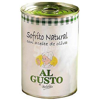 Al Gusto Sofrito natural con aceite de oliva Lata 500 g