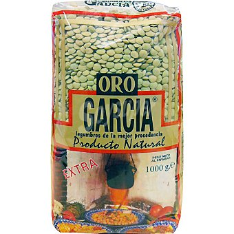 García Lenteja castellana Oro extra Bolsa 1 kg