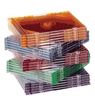 Pack caja 25 cd multicolor Unidad