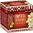 Infusi Speziali infusión de rooibos, vainilla y especias envase 20 bolsitas  Bonomelli