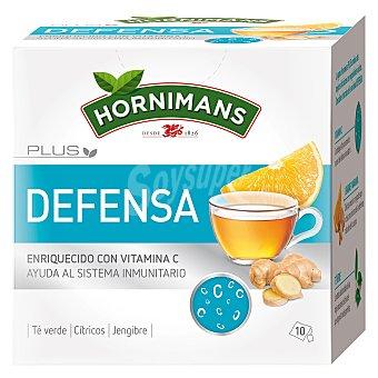Hornimans Infusión Plus Defensa enriquecido con vitaminas C en bolsitas Hornimans 10 ud